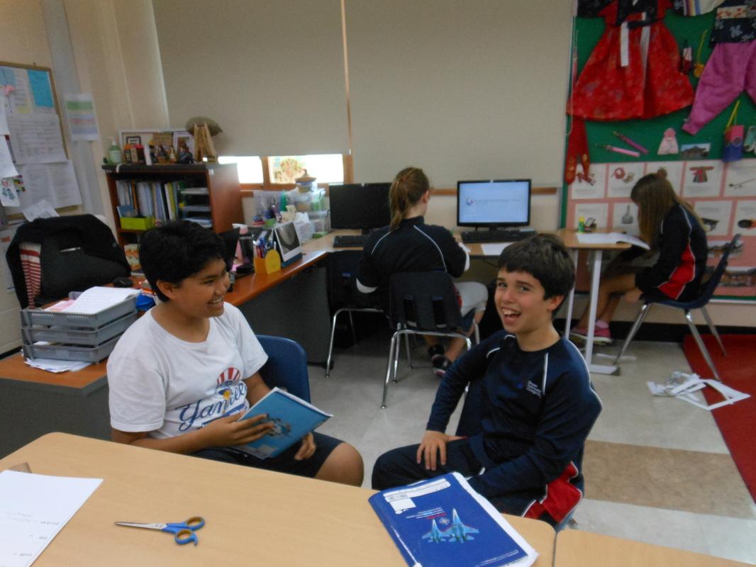 Korean LA class work - Korean Language Acquisition (Ms. Park)